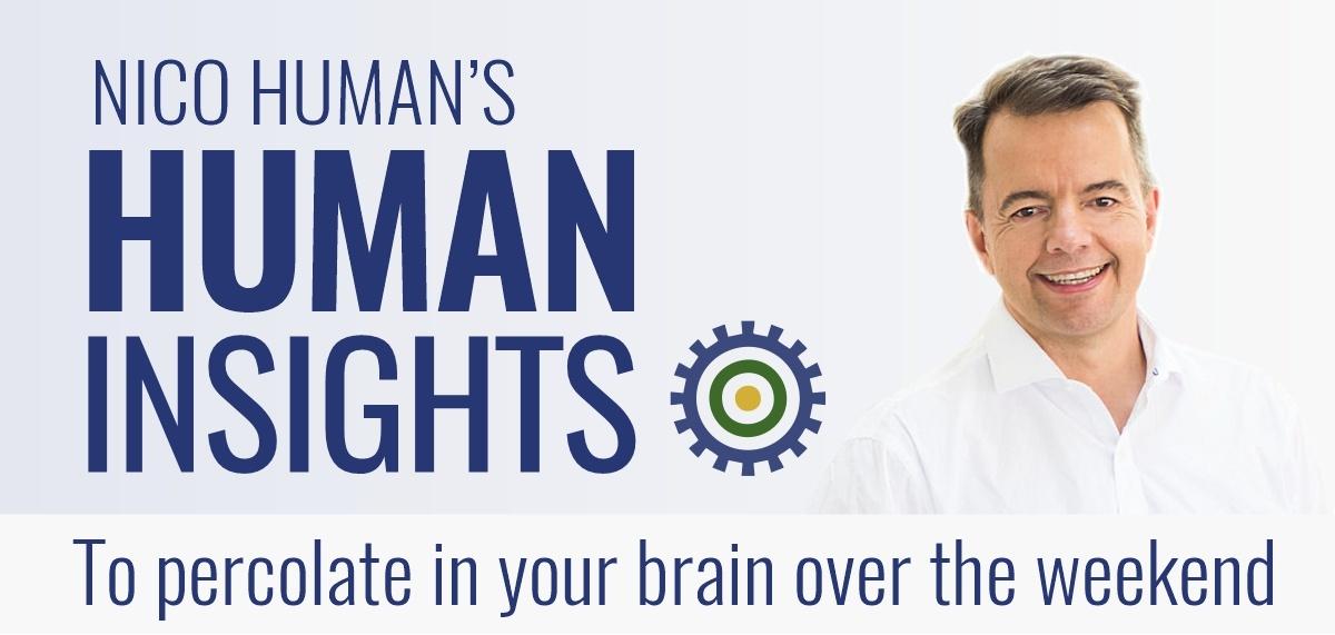 Weekly Coaching Newsletter Human Insights Nico Human